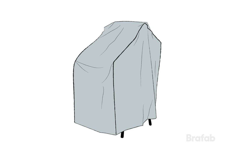Skydd för stapelstolar 90x63x95 Brafab