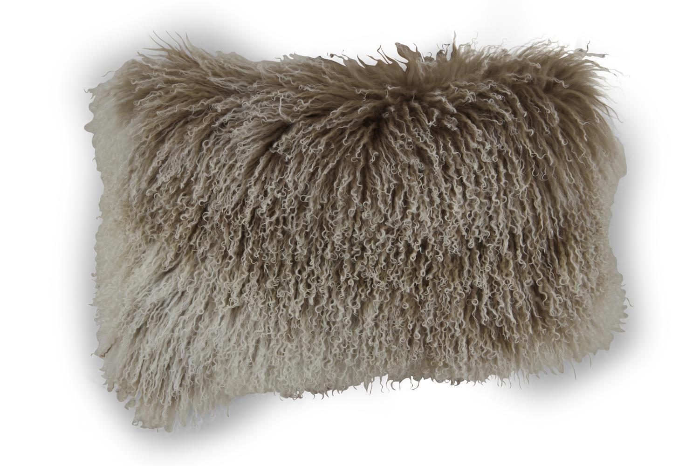 Arlon kudde 40x60 beige päls Brafab