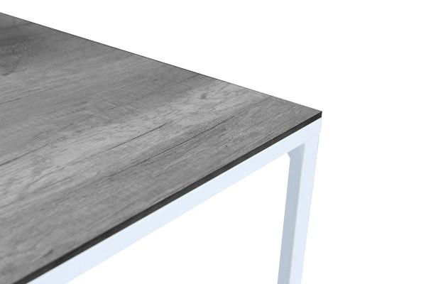 Talance bordsskiva 74x60 cm grå trälook Brafab