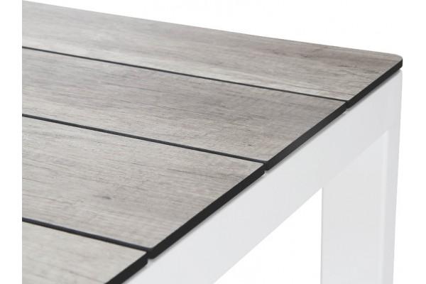 Rodez bordsskiva 209x95 cm grå trälook Brafab
