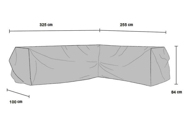 Möbelskydd V325/H255x100x84 Brafab