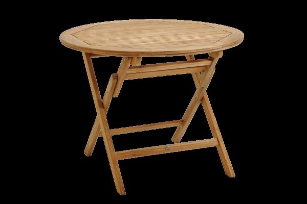 Turin matbord Ø100 H74 cm natur Brafab