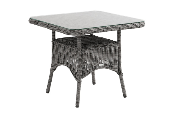 Rosita soffbord 80x80 H70 med glas Brafab