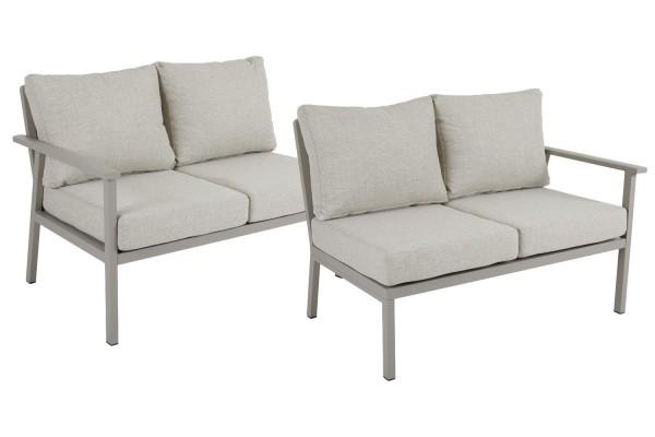 Samvaro 2-sits soffa avslut HV beige med dyna Brafab