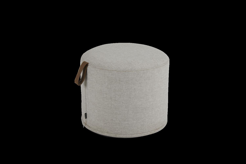Kotte pall rund Ø50 cm beige Brafab