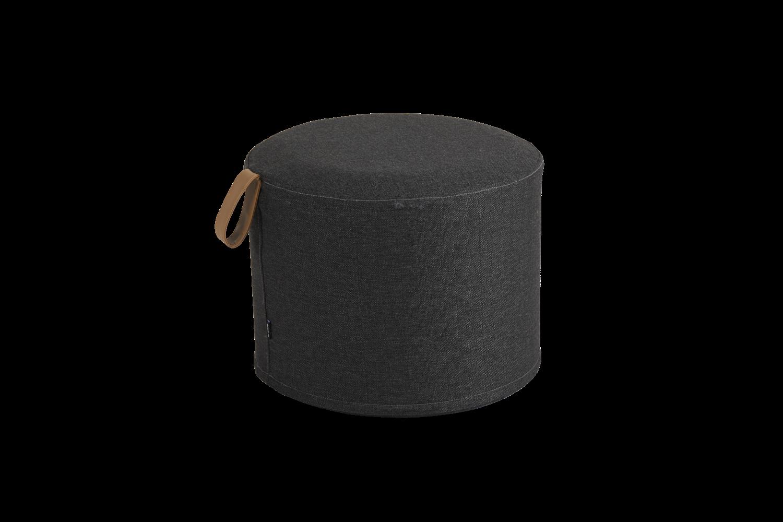 Kotte pall rund Ø50 cm svart Brafab