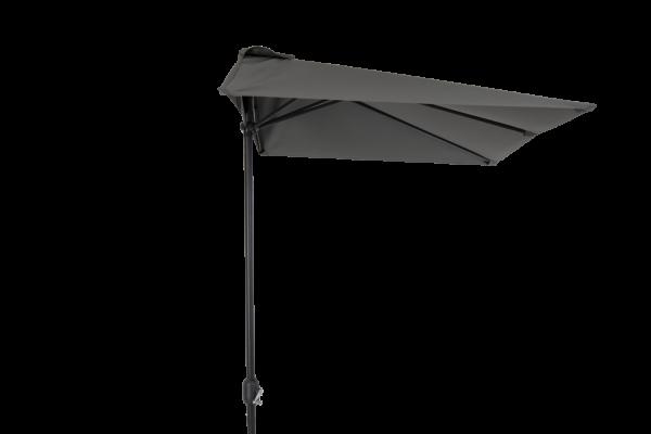 Cambre parasoll 250x130 cm grå Brafab