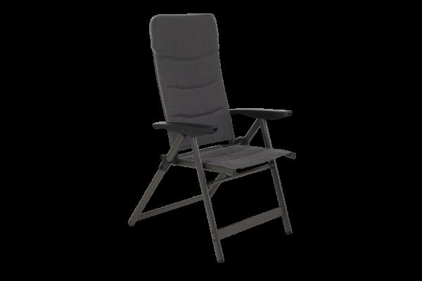 Krocket campingstol grå Brafab