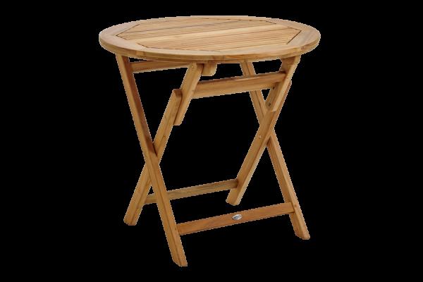 Turin matbord Ø80 H74 natur Brafab