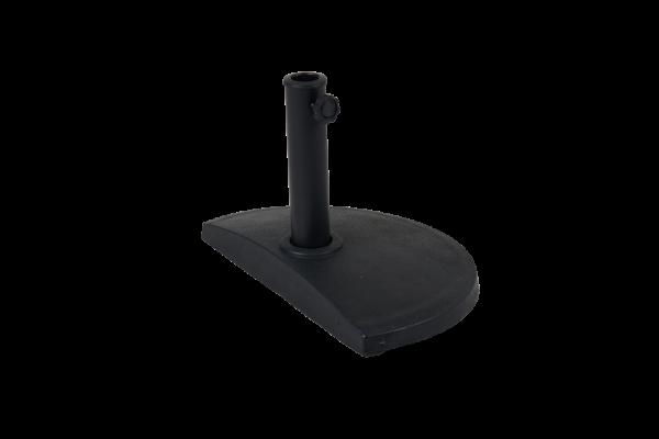 Kvitter parasollfot 9 kg svart Brafab