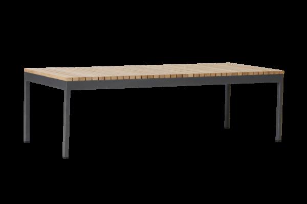 Zalongo soffbord 150x60 H45 natur/grå Brafab