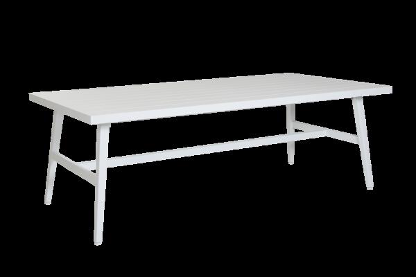 Calmar matbord 220x106 H74 cm vit Brafab