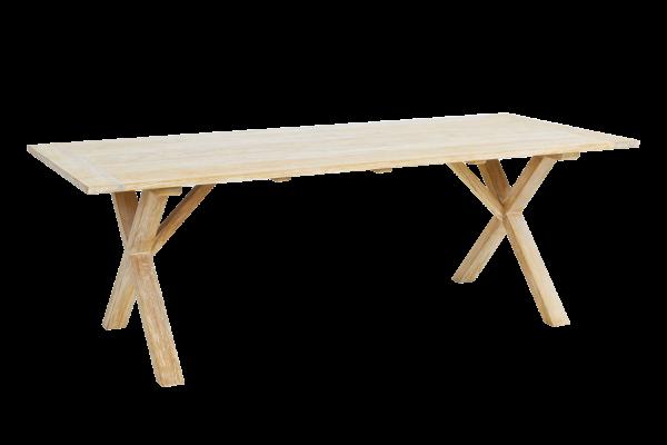 Brutus matbord 220x95 H75 cm vitpigmenterad Brafab