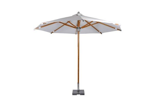 Lyon parasoll Ø350 cm natur Fritab