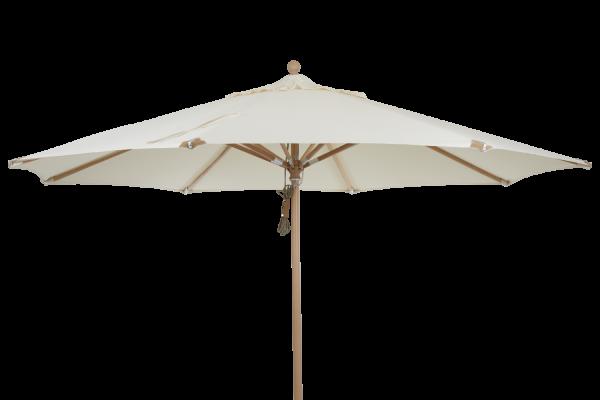 Parma parasoll Ø350 cm beige Brafab