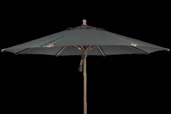 Parma parasoll Ø350 cm grå Brafab