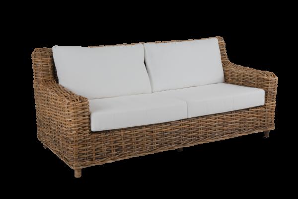 Rossvik 2,5-sits soffa natur med dyna Brafab