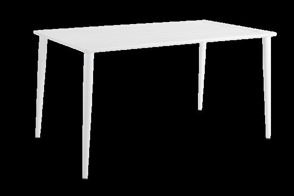 Nimes matbord 140x78 H73 cm vit Brafab