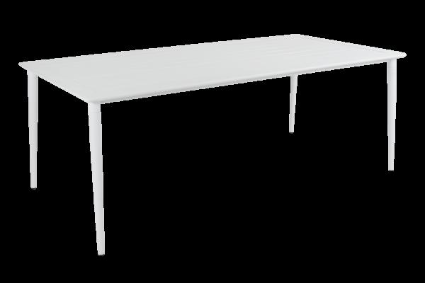 Nimes matbord 200x98 H73 cm vit Brafab