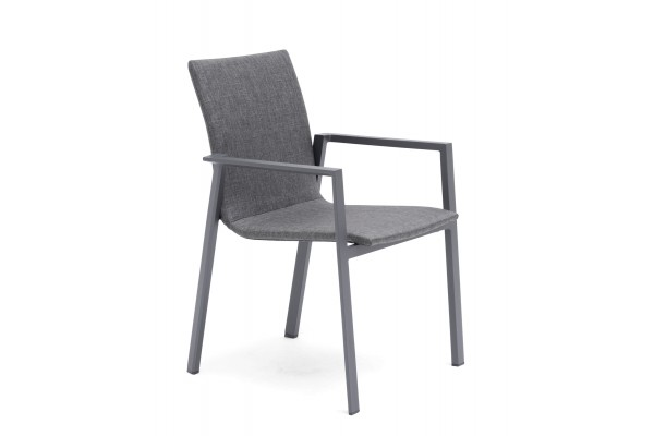 Borgdala stapelstol grå Hillerstorp