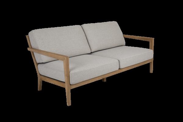 Populär 2,5-sits soffa natur med dyna Brafab