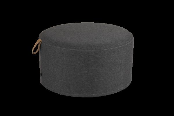 Kotte pall rund Ø80 cm svart Brafab