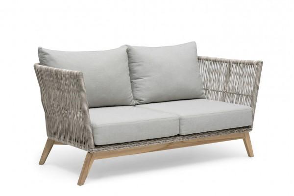 Himmelsnäs 2-sits soffa beige med dyna Hillerstorp