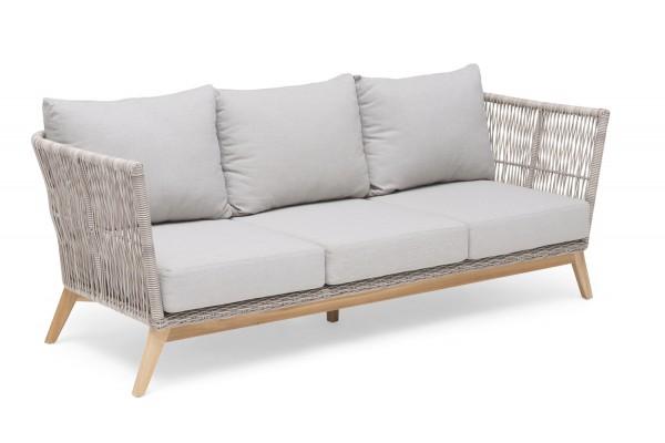 Himmelsnäs 3-sits soffa beige med dyna Hillerstorp