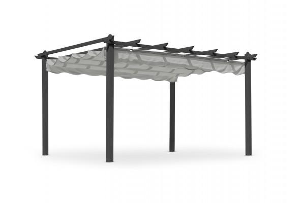 Pergolux pergola 300x400 cm grå Hillerstorp