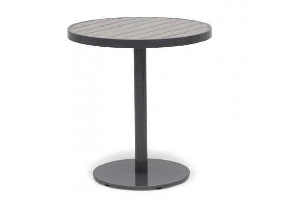 Åminne cafébord Ø65 cm grå Hillerstorp