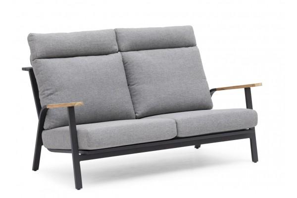 Kungshult 2-sits soffa grå Hillerstorp