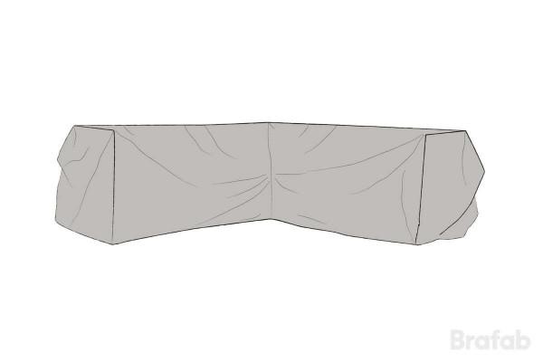 Leone möbelskydd hörnsoffa 220/220x75x65 grått