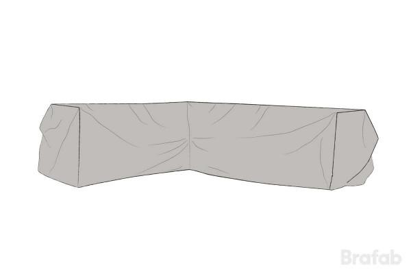 Leone möbelskydd hörnsoffa H290/V220x75x65 grått