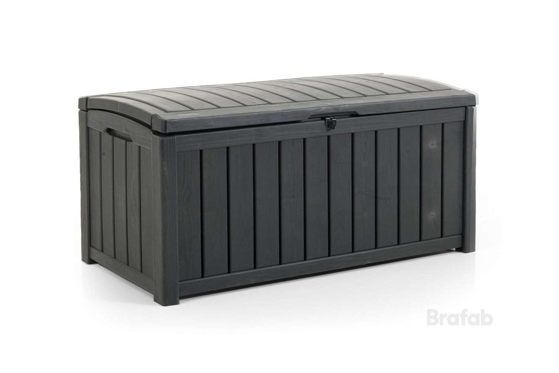 Keeper förvaringslåda antracit Brafab