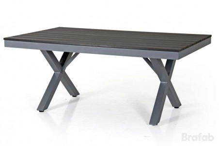 Leone soffbord h55 grå/grå