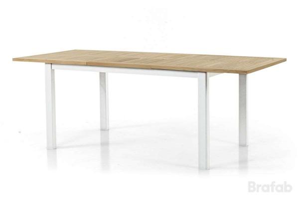 Lyon matbord teakskiva utdragbart 152-210x92
