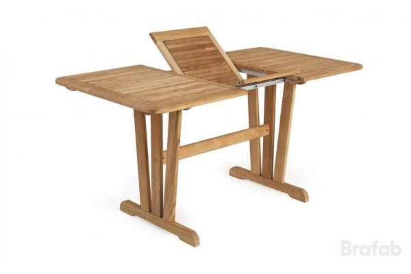 Cornelia matbord utdragbart 125-185x90 h74 Brafab