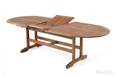 Everton matbord 200-250x100 h71brun