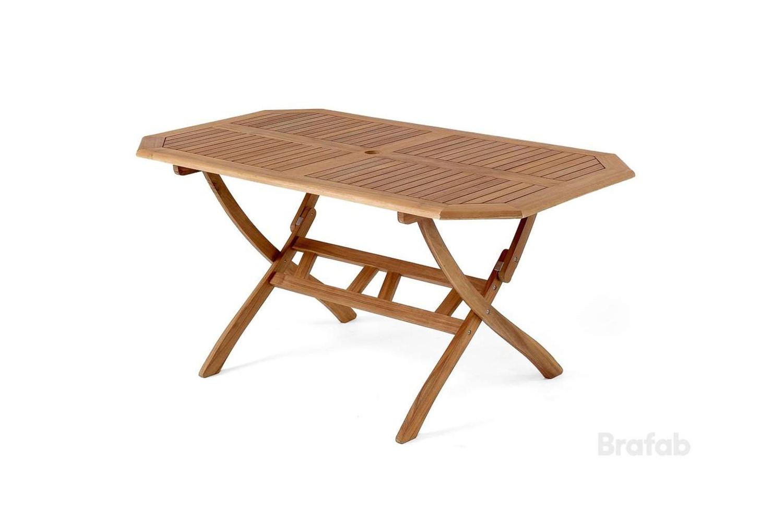 Everton matbord 150x85 h71 brun