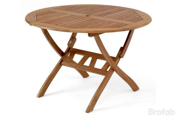 Everton matbord Ø110 h70 brun Brafab