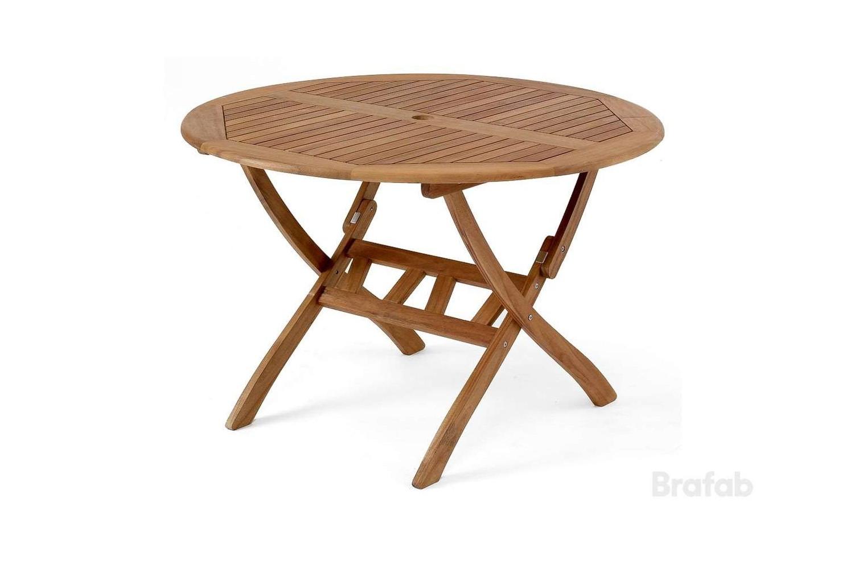 Everton matbord Ø110 h70 brun