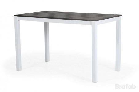 Leone matbord h74 vit/grå