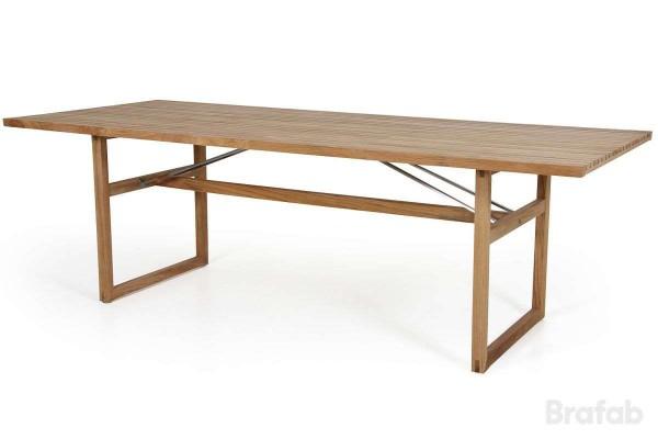 Vevi matbord 230x95 H72 cm natur Brafab