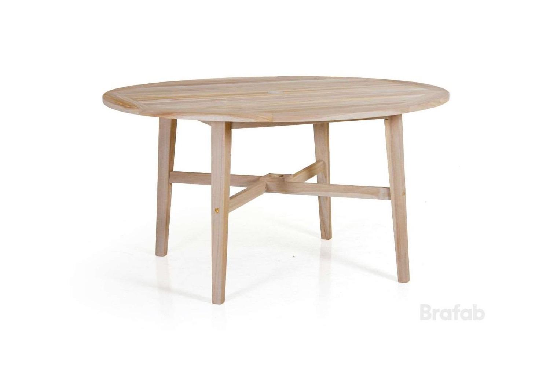 Vidos matbord Ø140 h74 blästrad natur