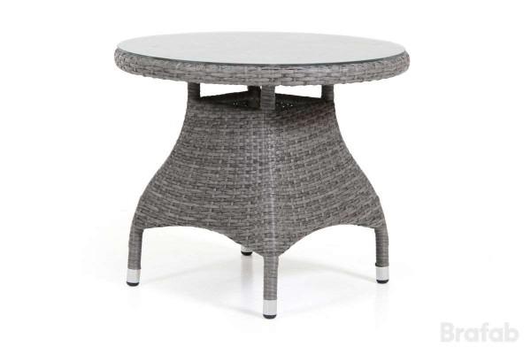 Ninja soffbord Ø60 h46 grå