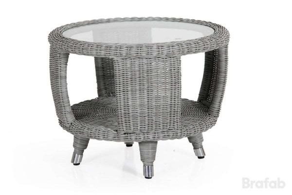 Evita sidobord Ø60 h45 med glas Brafab