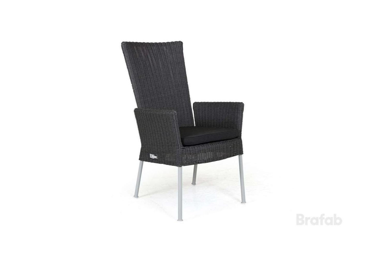 Somerset positionsstol med grå dyna