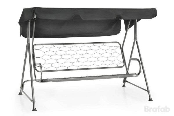 Basel hammock hög galvad antracit