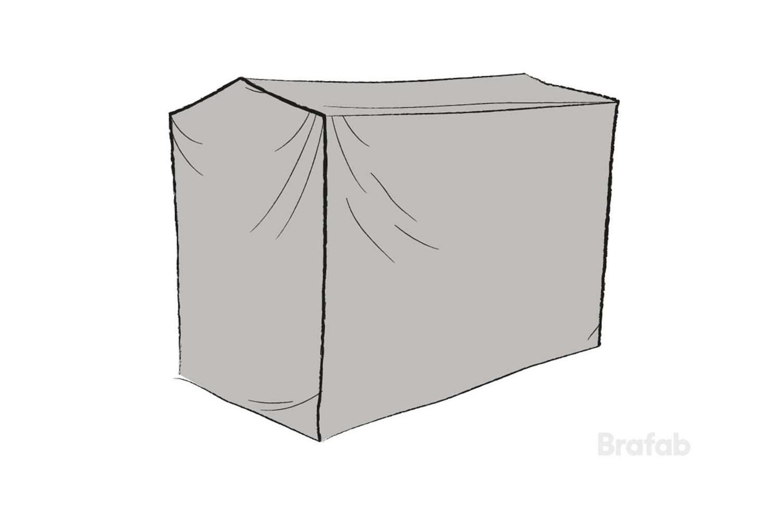 Hammockskydd polyester grått
