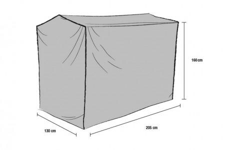 Hammockskydd polyester grått Brafab